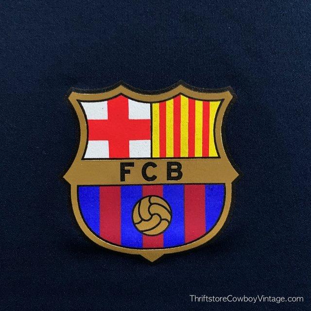 LIONEL MESSI SOCCER JERSEY FBC Futbol Club Barcelona LARGE 5