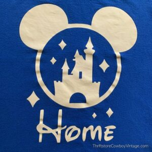 DISNEY WORLD HOME T-SHIRT Mickey Mouse Ears