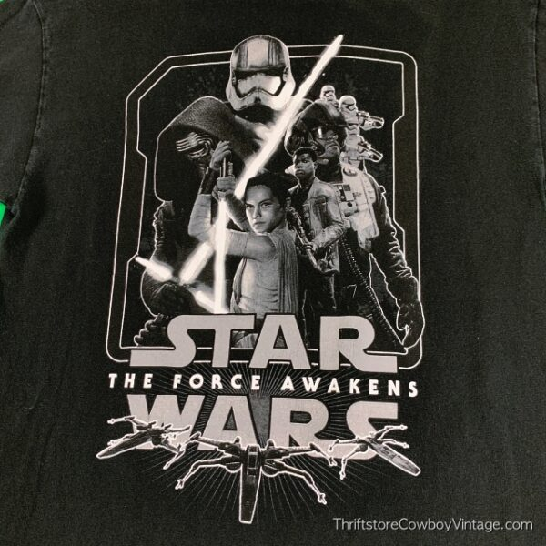 STAR WARS T-SHIRT Force Awakens MOVIE MEDIUM 3
