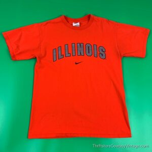 FIGHTING ILLINI T-SHIRT 2005 Nike Team NCAA MEDIUM