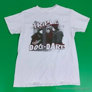 CHRISTMAS STORY T-SHIRT Triple Dog Dare 2000s MEDIUM