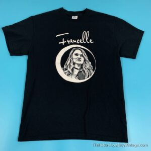 FRANCELLE T SHIRT Singer Songwriter Country MEDIUM