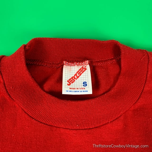 Vintage PRINCE WILLIAM BOYS & GIRLS CLUB 1980s Red SMALL/XS 5
