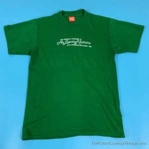 Vintage THE FASHION FANTASIES OF AN EVENING UPSTAIRS T SHIRT Jean Sherman Bogarts 1981 SMALL