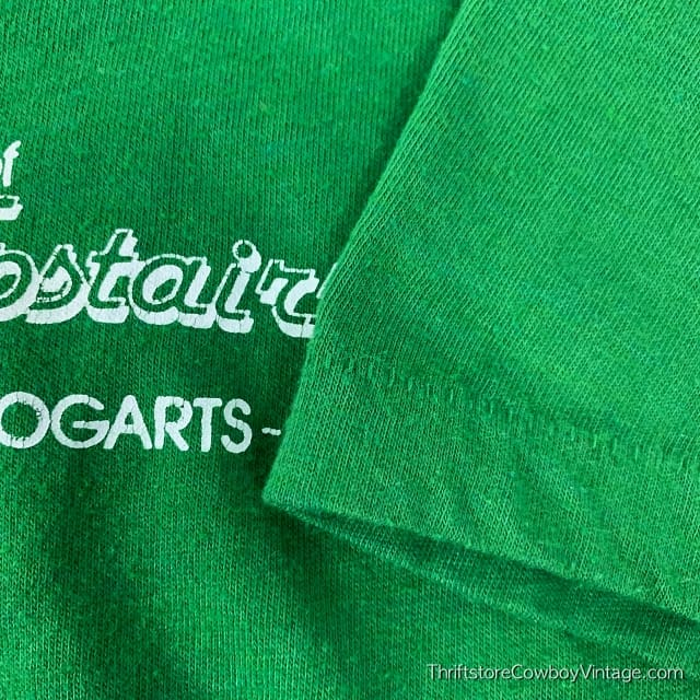 Vintage THE FASHION FANTASIES OF AN EVENING UPSTAIRS T SHIRT Jean Sherman Bogarts 1981 SMALL 5