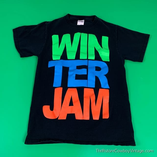 WINTER JAM T-SHIRT 2000s Christian Music Tour SMALL 3