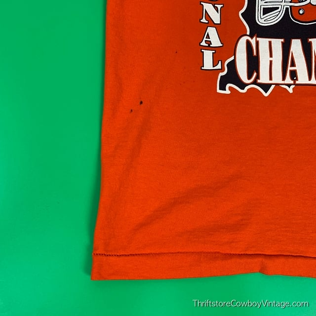 Vintage 1996 NORTH MONTGOMERY CHARGERS T-SHIRT IHSAA Sectional Champs LARGE 5
