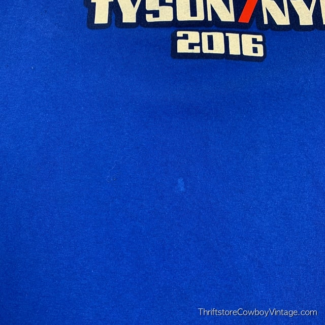 TYSON / NYE 2016 T-SHIRT Presidential Campaign LARGE 5
