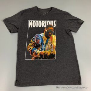 NOTORIOUS BIG T-SHIRT Coogi Sweater Image SMALL