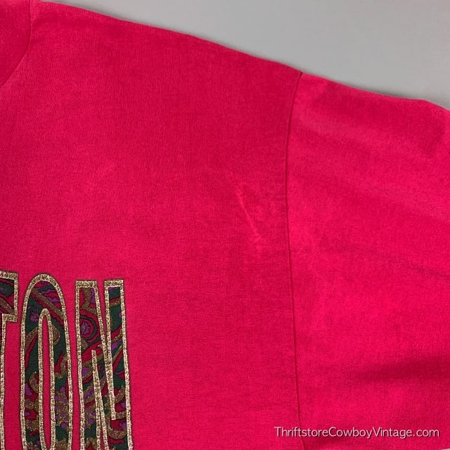 Vintage WASHINGTON DC T-SHIRT 90s Nation's Capital Rose XL 6