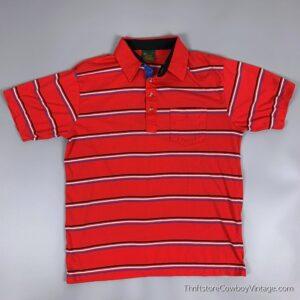 Vintage CHIP BECK POLO SHIRT Golf 80s Striped M/L