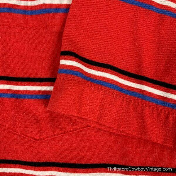Vintage CHIP BECK POLO SHIRT Golf 80s Striped M/L 5