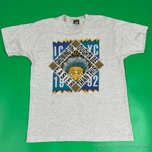 Vintage 1992 GROWING UP OUGHTA BE EASIER THAN THIS T-SHIRT LARGE