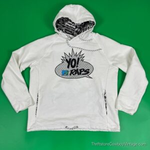 YO! MTV RAPS HOODIE American Eagle MEDIUM