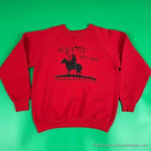 Vintage BLACK ELK SPEAKS SWEATSHIRT 90s Play Edyvean Repertory Theater CTS L/M 2