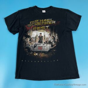 MICHAEL SHENKER FEST T-SHIRT Resurrection Concert 2018 MEDIUM