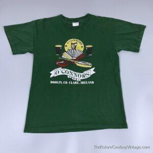 Vintage 90s O'CONNORS PUB T-Shirt Clare Ireland Authentic MEDIUM