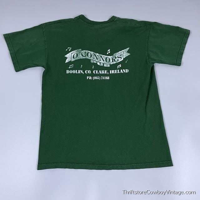 Vintage 90s O'CONNORS PUB T-Shirt Clare Ireland Authentic MEDIUM 6