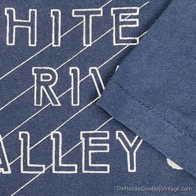 Vintage 80s WHITE RIVER VALLEY DRILL TEAM T-SHIRT XL 10