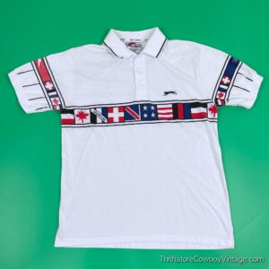 Vintage 80s JIMMY CONNORS POLO Slazenger SMALL