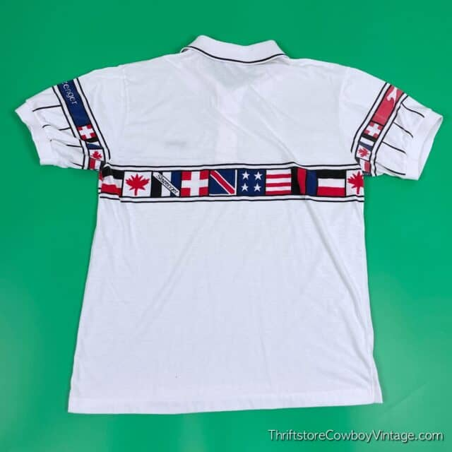 Vintage 80s JIMMY CONNORS POLO Slazenger SMALL 4