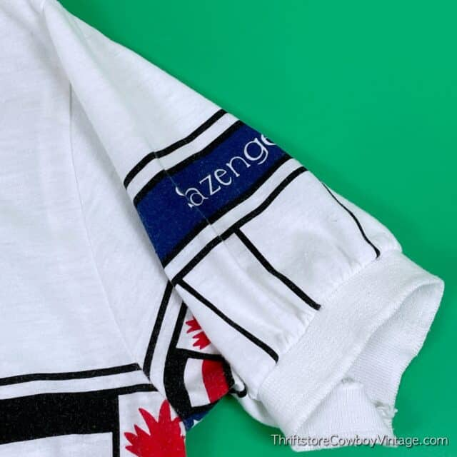 Vintage 80s JIMMY CONNORS POLO Slazenger SMALL 7