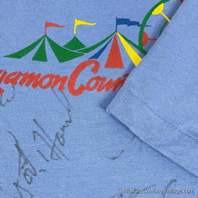 Vintage 90s SANGAMON COUNTY FAIR T-SHIRT G-Team XL 7