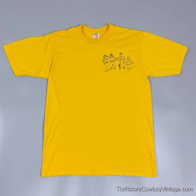 Vintage 90s JUST SAY NO T-SHIRT Ouabache Friendly Helpers MEDIUM 3