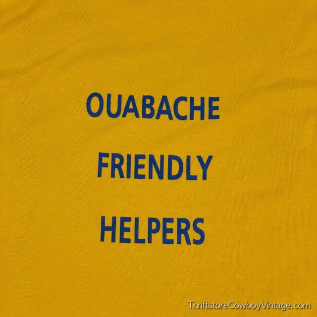 Vintage 90s JUST SAY NO T-SHIRT Ouabache Friendly Helpers MEDIUM 6