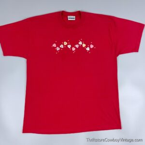 Vintage 90s VALENTINE'S DAY HEART CANDY T-SHIRT XL