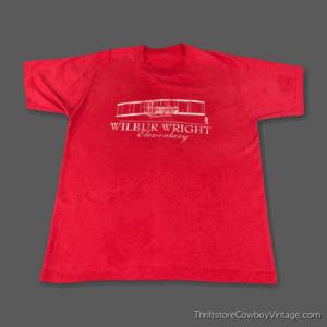 Vintage 80s WILBUR WRIGHT ELEMENTARY SCHOOL T-SHIRT LARGE