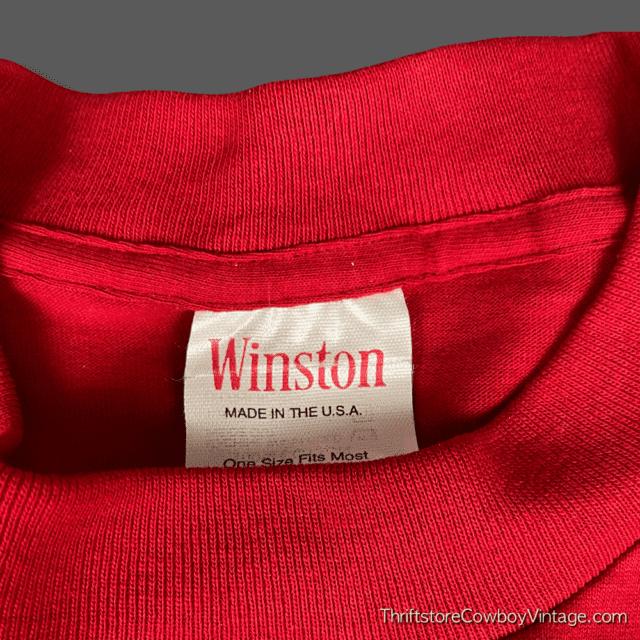 Vintage Deadstock 1994 WINSTON CIGARETTES WINNERS CLUB T-SHIRT XXL 7