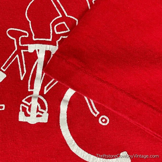 Vintage 80s CENTRAL ILLINOIS CYCLISTS T-SHIRT MEDIUM 5